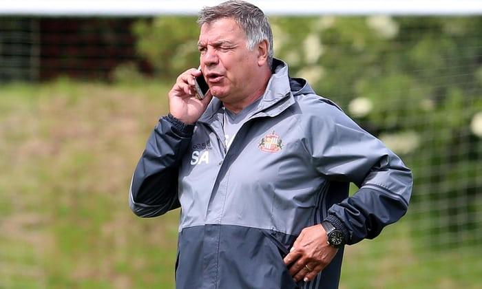 Sam Allardyce intervistato per il lavoro in Inghilterra, mentre Sunderland richiede una rapida risoluzione